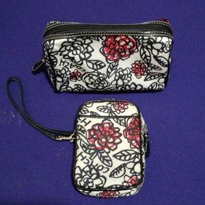 Authentic COACH Cosmetic Bag / Case Holder